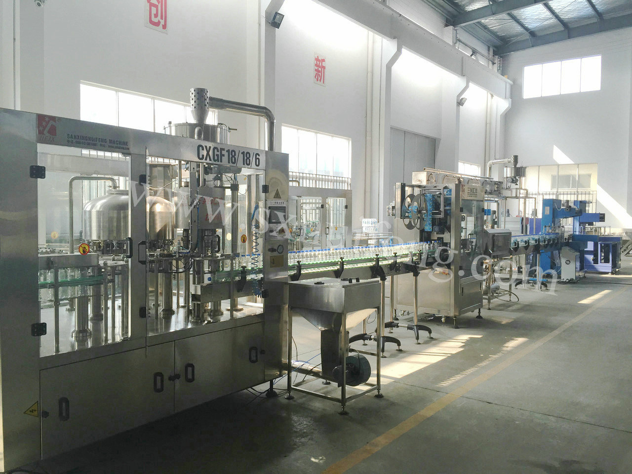 8000BPH Automatic Water Filling Line