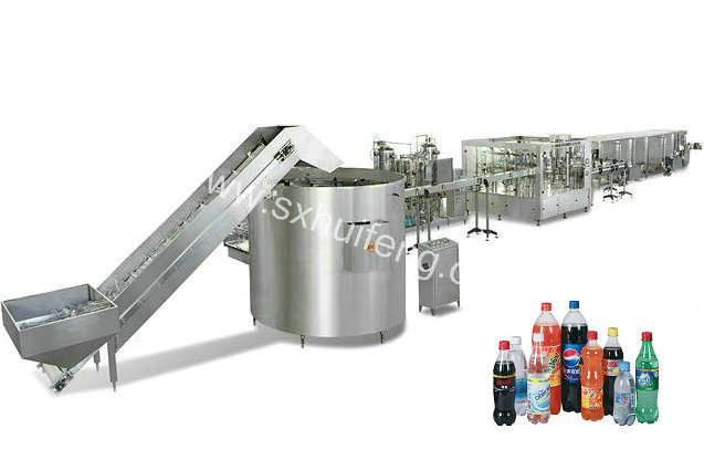 Carbonated drink production complete line