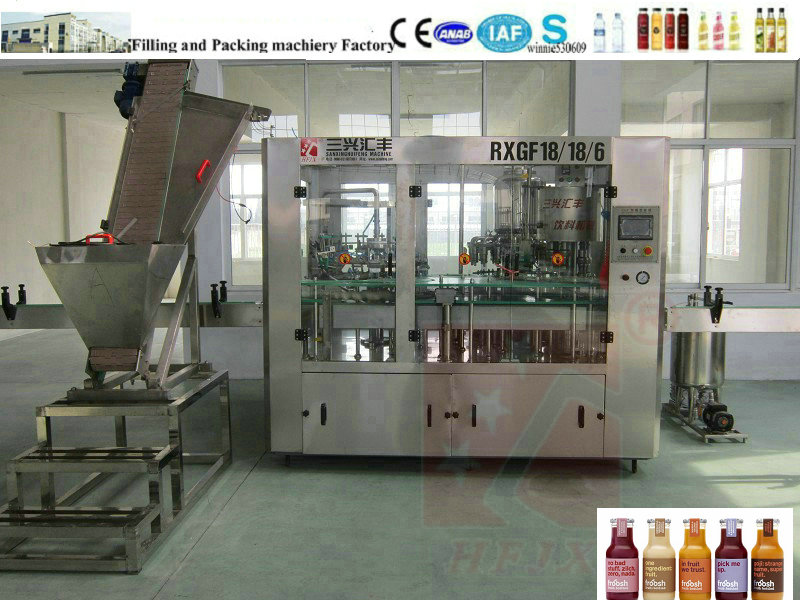 Squeezed Juice Filling Machine