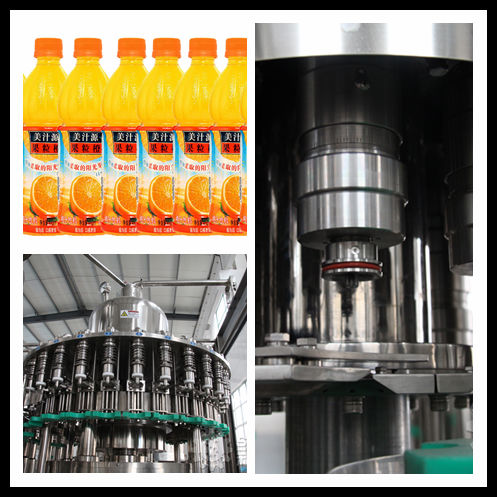 Automatic PET bottled Concentrate Juice Filling Plant/Juice Hot Filling Sealing Machine