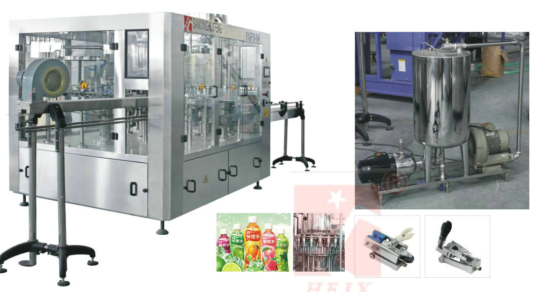 Juice Filling Machine (3 in 1)