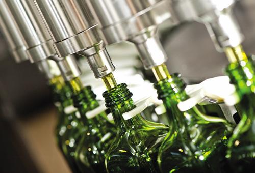 Olive oil filler