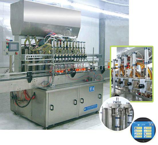 Cooking oil filling machinery
