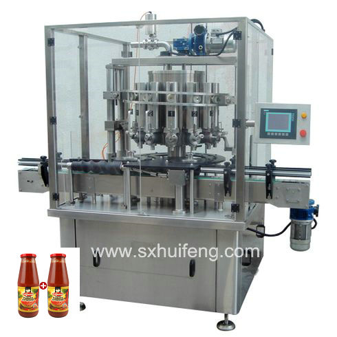 Viscosity liquid Piston bottling machine