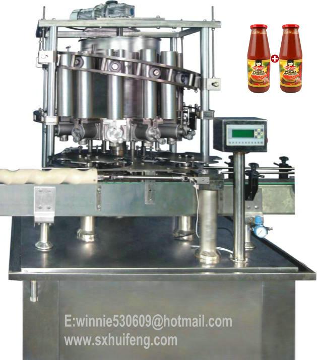 tomato sauce filling machinery