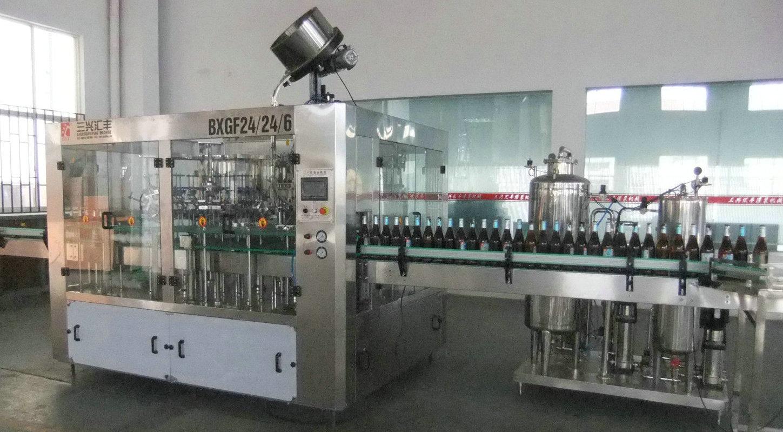 beer bottling 3in1 monoblock