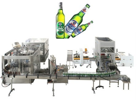 BEER BOTTLING AND PACKING SYSTEM